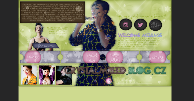 ORDERED DESIGN FT. CRYSTAL REED by silverstars-graphic