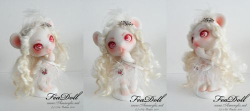 FeaDoll little mouse by Nailyce