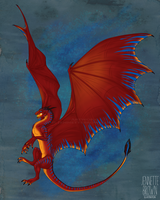 Muser Dragon Commission by sugarpoultry