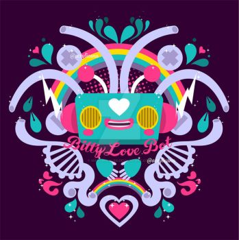 Bitty Love Bot by marywinkler