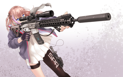 Spike's Tactical AR-15 by Geococcyx