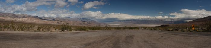 Entering Death Valley by dpierce1313