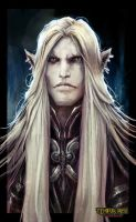 Tempus Ren - Eldritch Male Portrait by Eyardt