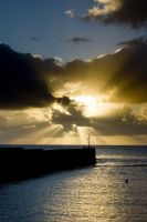Porthleven Sun by hellfire321