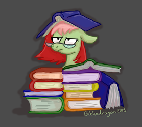 Too Many Books by bibliodragon
