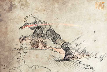 Sharingan Kakashi by kanzzzaki