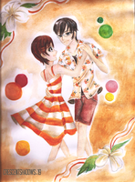 A Summer's Dance-KyoHaru by crescentshadows19