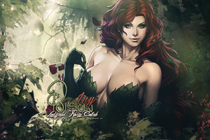 Rosie And Lady Colab Poison Ivy by LadyPawsGFX