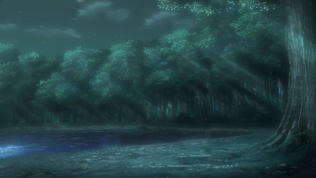 Bosque Nocturno Naruto by lwisf3rxd