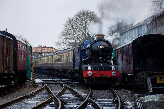 6023 King Edward II by Daniel-Wales-Images