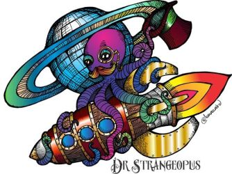 Dr Strangeopus - The Tentacle Collection by lunacatd