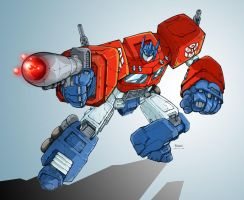 Optimus Prime by Clu-art