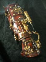 Steampunk Warrior handguard by Skinz-N-Hydez