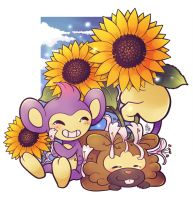 PokeFlowers by TamarinFrog