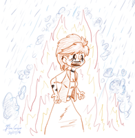 May 30th: Set Fire To The Rain by pro-mole
