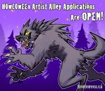 Howloween Artist Alley Applications OPEN! by HowloweenCanada