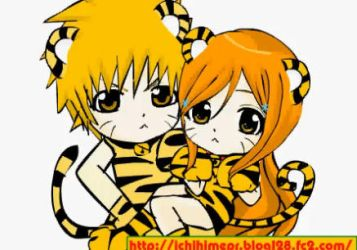 Ichihime Chibi Tigers by animegal323
