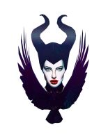 Angelina Jolie as Maleficent by DanielleBostic