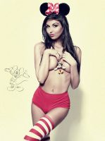 Laura Minnie Mouse by abclic