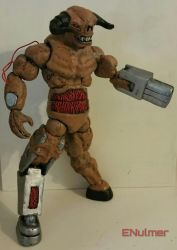 classic doom cyberdemon by ENulmer