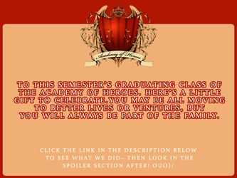 AoH :: Graduation Gift For All by vikifanatic