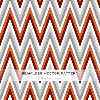 Retro Zigzag Pattern Free Vector by 123freevectors