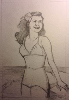 Weekend Challenge Esther Williams by DanaAMero