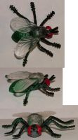 BUGS- flys by JensStockCollection