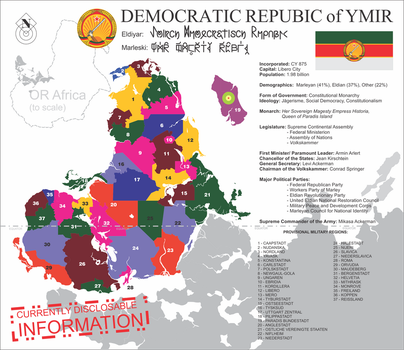 Fact Sheet: Ymir Democratic Republic by ThaDrummer