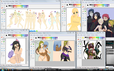 WIPS  that im working on by CHARIZARD110011