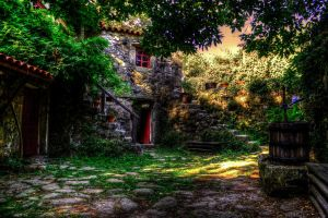 old portuguese house by fkefctry