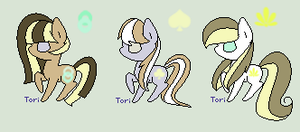 CLOSED: BATCH 1 : MLP ADOPTS 2/3 1 POINT by Violeta-Adopts