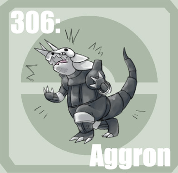 306 Aggron by Pokedex