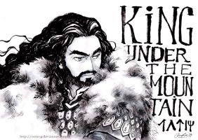 Rightful King Under The Mountain by orrie-g