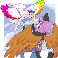 Fly with me by JessiiRoo