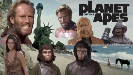 Planet Of The Apes by RoyPrince