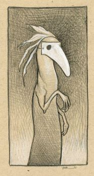 Mask Creature by ursulav