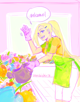 Flowershop by starchiishio