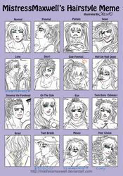 Hairstyle meme 'Song by Star10