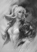 Drawinyourstyle - Tess by vinrylgrave