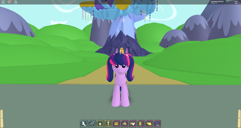 Twilight Sparkle's New Mane Style: Pigtails! X3 by jimmyhook19202122