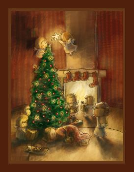 Time for gifts by Adelaida