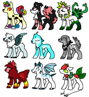 Adopts 2 [6 open] by crazywhiskers202