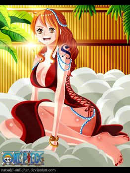 One Piece 806 Nami Return by natsuki-oniichan