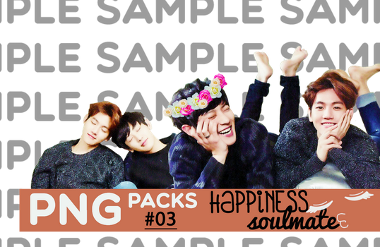 PNG/RENDER pack #03. HAPPINESS SOULMATE by kyoongie