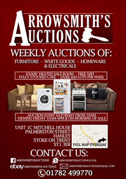 Arrowsmith's Auctions Flyer by NexusBeat
