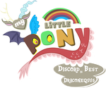 Fanart - MLP. My Little Pony Logo - Discord by jamescorck