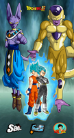 Poster 2 Dragon Ball Super by ChronoFz