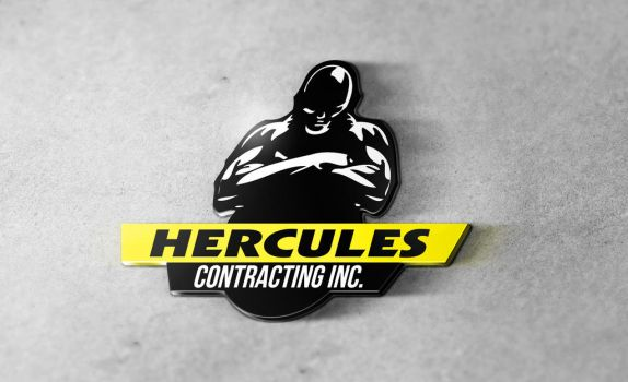 Hercules Contracting Logo by CodySymes