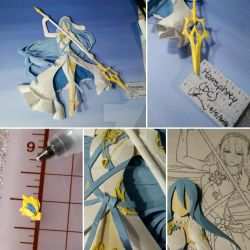 Azura - 3D Paper Art by KawakineAlice